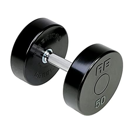 Amazon.com : American Barbell Series II Solid Steel Urethane Dumbbell Set 55-100 lbs (10 Pairs) - Commercial Grade Dumbbells : Sports & Outdoors