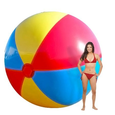 GLOW Party Fun Giant 12' Beach Ball by Glow