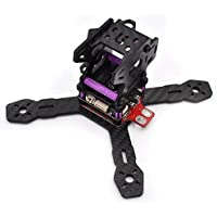 BangBang Realacc RX130 RX150 130mm 150mm 3mm Arm Carbon Frame Kit with 5V/12V PDB XT60 Plug (1Pc: Frame 150mm)