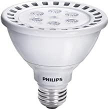 Philips 423459 13-Watt (75-Watt) AirFlux PAR30S LED 3000K (White) Flood Light Bulb, Dimmable