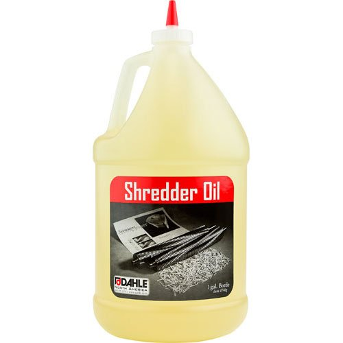 Dahle Shredder Oil 1 Gallon Bottles (For Automatic Oilers) - 4pk