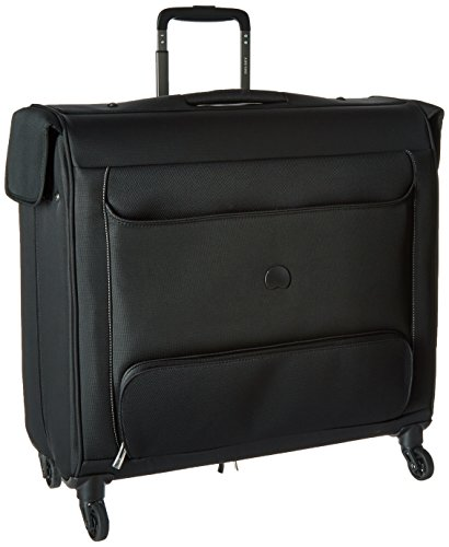 Delsey Luggage Chatillon Spinner Trolley Garment Bag, Black