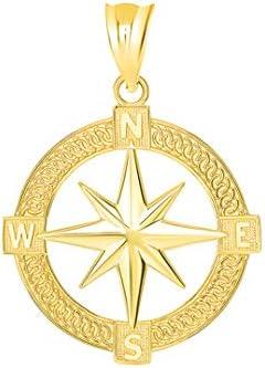 North Star Minimal Pendants d/'Oreilles Zircon Cubique Pierre Précieuse étoile du Nord 14K plaqué or rose