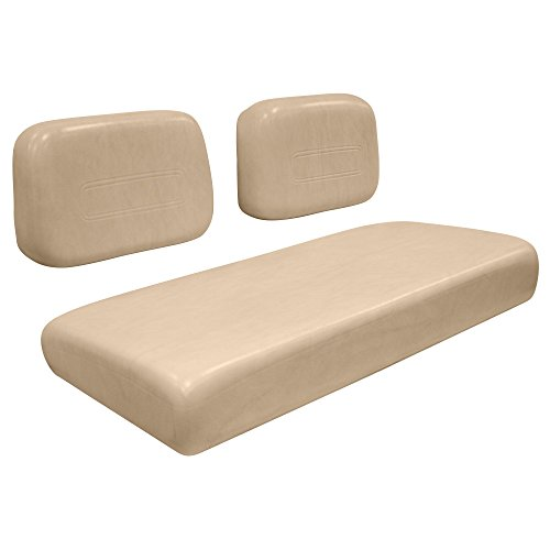Vinyl Bases Covered Heavy Duty (Wise WG003-7743 Club Car DS 1979-1999 Golf Cart Front Seat Complete Set, Fairway Buff)