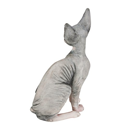 Sphynx Cat Hand Painted Statue 4 1 Quot New 5060372459894 Ebay