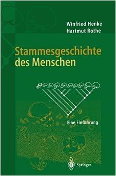 Book Stammesgeschichte des Menschen: Eine Einführung (German Edition)