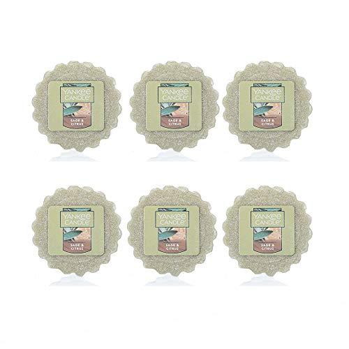 - Yankee Candle Lot of 6 Sage & Citrus Tarts Wax Melts