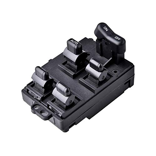 Catinbow 35750SM4A11ZC Window Master Switch for 1994-1997 Honda Accord Driver Side Master Power Window Switch