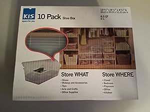 KIS 10 Pack Shoe Box