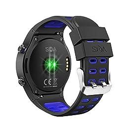 SMA-M1 Smart Watch with Heart Rate Monitor Activity Tracker Watch for Men with Heart Rate Monitor Smartwatch Sleep…