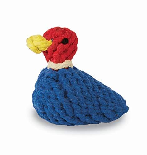 MUDPIE RED Duck Dog Rope Toy