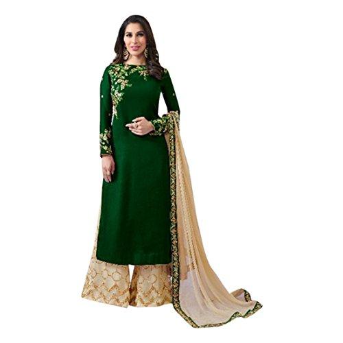 Designer lungo Partywear misura Kameez vestito Emporio personalizzato indiano Plazzo Straight ETHNIC etnico Salwar Pant EMPORIUM su convenzionale indiano 2795 TgxYwa