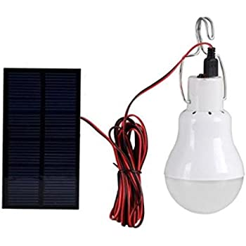 Portable Bulb Outdoor & Indoor Solar Powered Led Lighting System Solar Panel Lamp Hot No Electricity Required Powered By Sunlight During Daytime Brand New