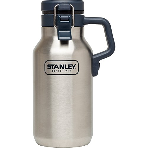 Stanley 10-02110-001 Adventure Growler and Grumbler, Stainless Steel, 32oz