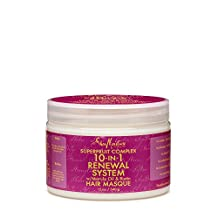 Shea Moisture Superfruit Complex 10-in-1 Renewal System Hair Masque 12 Oz.
