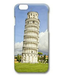iphone 5 5s Case, Leaning Tower Case for iphone 5 5s 3D PC Material