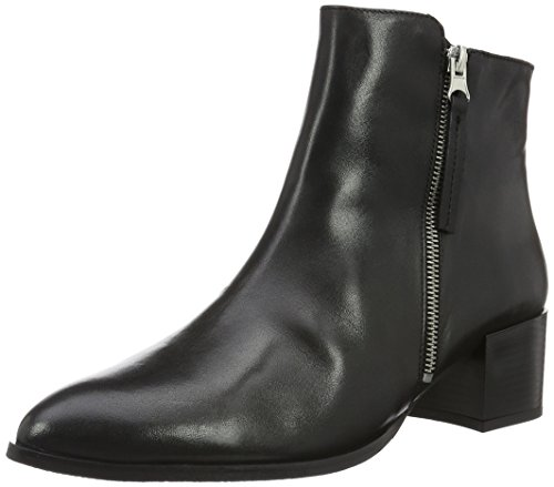 Bianco Dress Zip Boot Som16, Zapatillas de estar Por Casa Para Mujer Negro - Schwarz (Black/10)