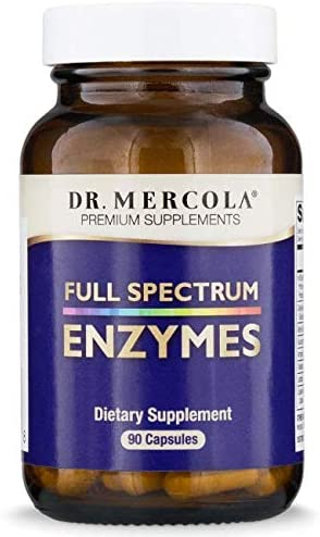 Dr Mercola Full Spectrum Enzymes product image