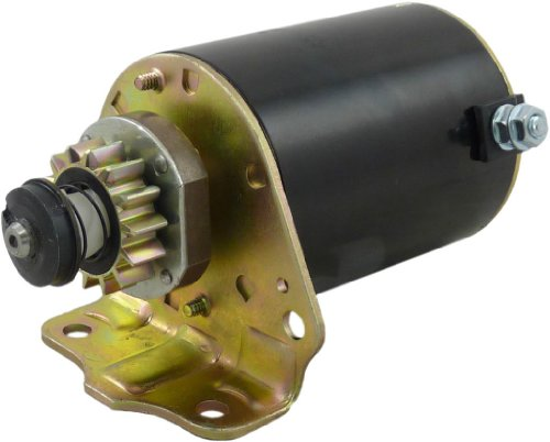 (Starter New for BRIGGS and Stratton 7 thru 18 HP with STEEL GEAR 693551)