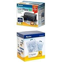 Aqueon QuietFlow Power Filter 50 Starter Kit