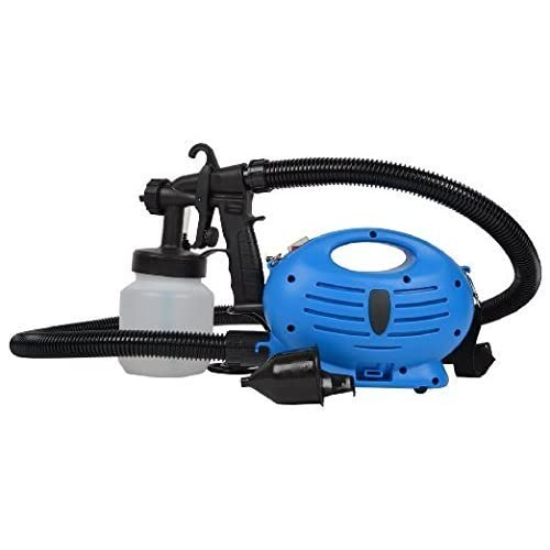 Shree-Hari Paint Zoom Electric Portable Spray Painting Machine (37x24x21cm, Blue and White)