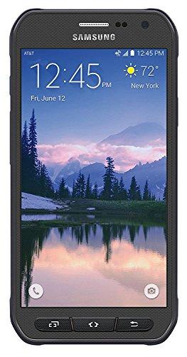 Samsung Galaxy S6 Active G890A 32GB AT&T (Renewed) (Grey)