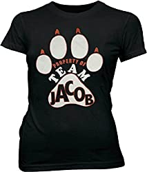 Property Of Team Jacob Wolf Black Juniors T Shirt Tee