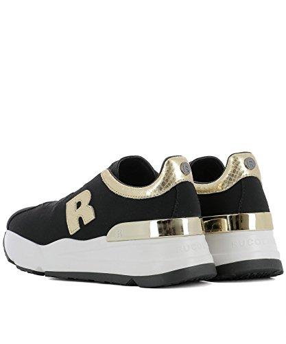Line Women's 4013NICOLENERO Fabric Sneakers Black Ruco pOB1qwO