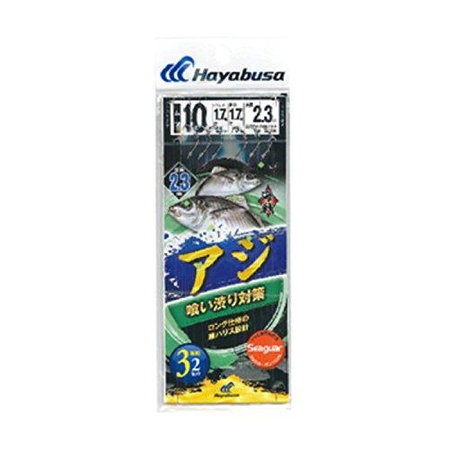 ハヤブサ(Hayabusa) 海戦アジ 喰い渋り対応 シーガー3本×2 10-1.7-1.7 SE336の商品画像