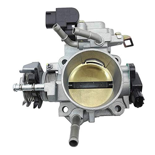 Throttle Body Assembly Fit for Honda Accord DX LX EX 2.4L 2003 2004 2005 16400RAAA62 16400-RAA-A62