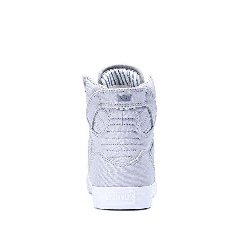 Sneaker Supra Skytop Medium Lt.grey Bianco