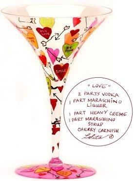 Lolita Martini Glass Love Retired - Martini Love GLS4-5510M by Unknown