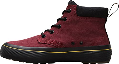 Canvas Black Boot Women's Dr Allana Martens Cherry Red Chukka Zqf8wfv