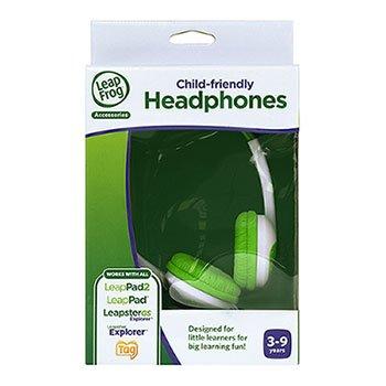 Price comparison product image Leapfrog Headphones Green By Leapfrog Enterprises