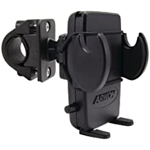 Arkon SM432 Mega Grip Bicycle and Motorcycle Mount for Smartphone , Bulk Packaging (Black) (Discontinued by Manufacturer)