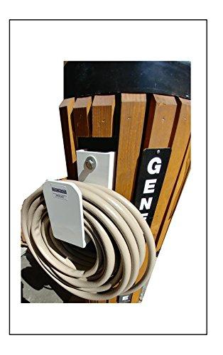 General Marine Products Hose holder wall mounted aluminum powder coated. -