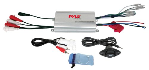 Pyle PLMRMP3A 4-Channel Waterproof MP3/iPod Marine Power Amplifier