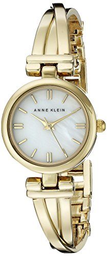 Anne Klein Women's AK/1170MPGB Bangle Watch