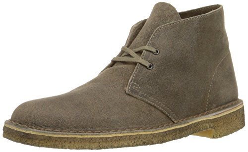 CLARKS Originals Men's Desert Boot,Taupe Suede,8.5 M (Originals Desert Boot)