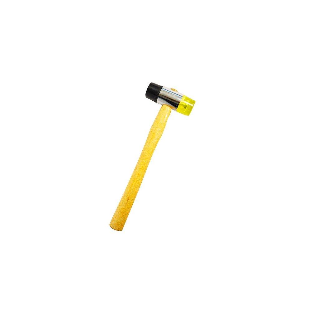 Hexoutils HX59874 Maillet Embouts Caoutchouc/Plastique, Variable, ø 32 mm ø 32 mm