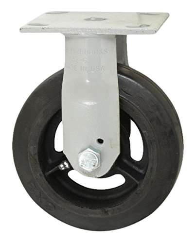 675 lb 5 Width 5 5 Length Series 322 Sanitation Container Caster The Fairbanks Company N32-5-RTI Load Capacity Delrin Bearing Rubber Mold-on//Semi Steel Center 6.5 Height Rigid