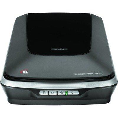 EPSON Perfection V500 Flatbed Scanner - 48-bit Color - Scanner Epson V550