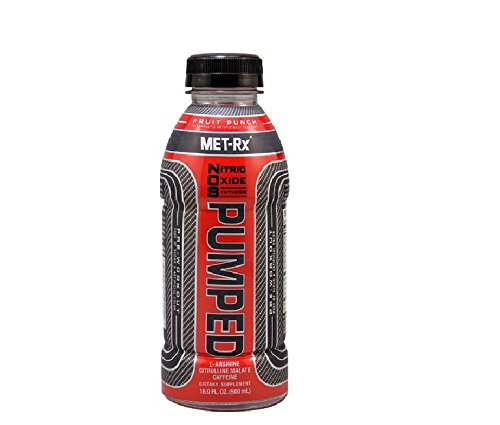 Rtd Fruit (MET-Rx NOS Pumped Fruit Punch, 16.9 ounce, 12)
