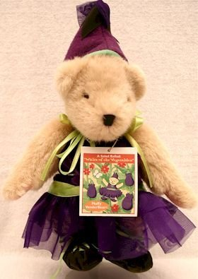 Muffy Vanderbear A Salad Ballad Waltz of the Vegetables Dressed Bear by North American Bear