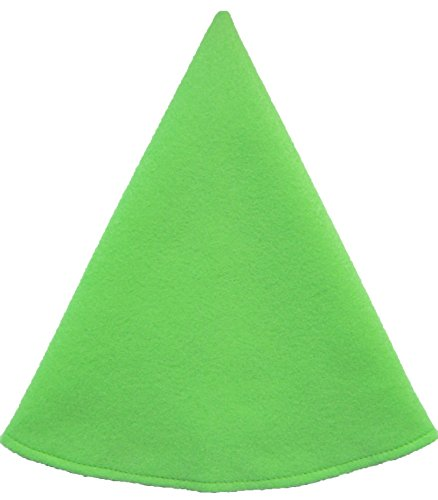 Lime Green Santa Hat - Red Gnome Hat Women's Costume Cap