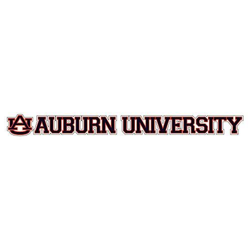 Auburn Tigers Decal AU AUBURN UNIVERSITY DECAL - University Au Tigers Auburn