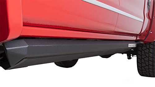 AMP Research 77154-01A PowerStep XL Electric Running Boards Plug N' Play System for 2014-2018 Silverado & Sierra 1500, 2015-2019 Silverado & Sierra 2500/3500 with Crew Cabs (Excludes Diesel)