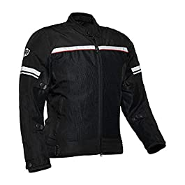 Royal Enfield Summer Riding Jacket Black (M) 40 CM(RRGJKB000028)