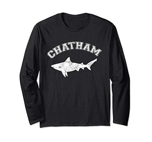 Chatham MA Great White Shark MA Massachusetts The Cape Long Sleeve T-Shirt
