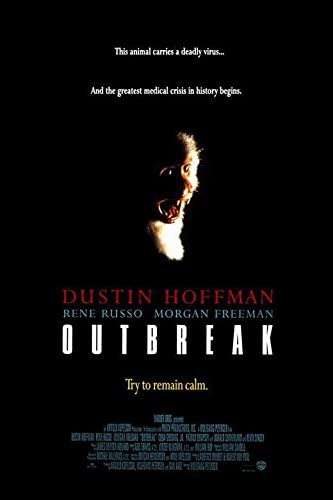 Image result for outbreak 1995 poster